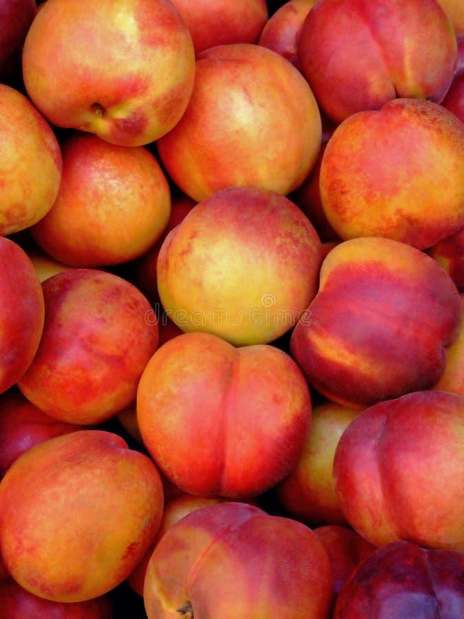 peaches organicznych zdjęcie stock