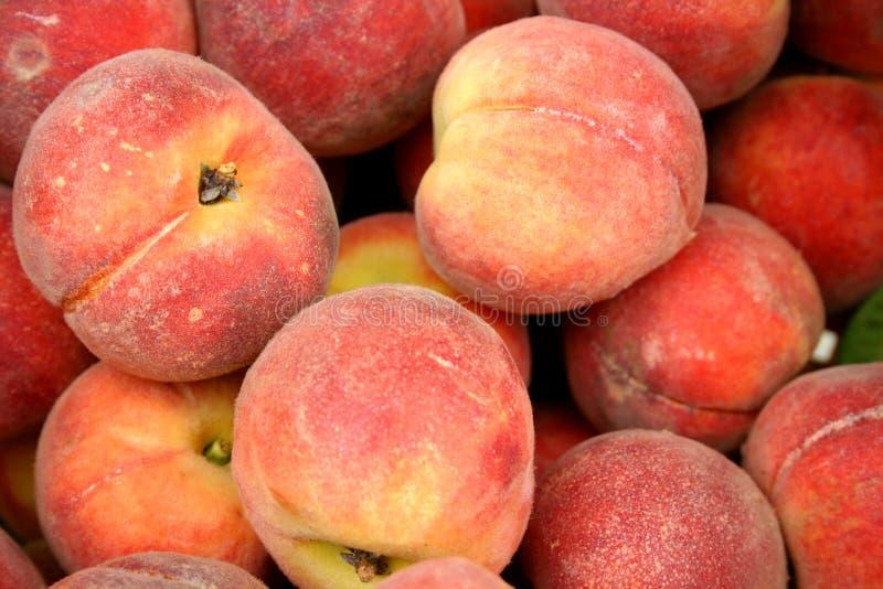 peaches rynkowych fotografia royalty free