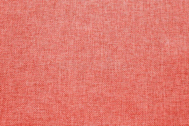 Peachy orange textur för skuggatygtextil av Pantone's färg royaltyfri fotografi