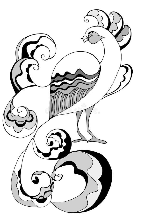 Peacock διανυσματική απεικόνιση