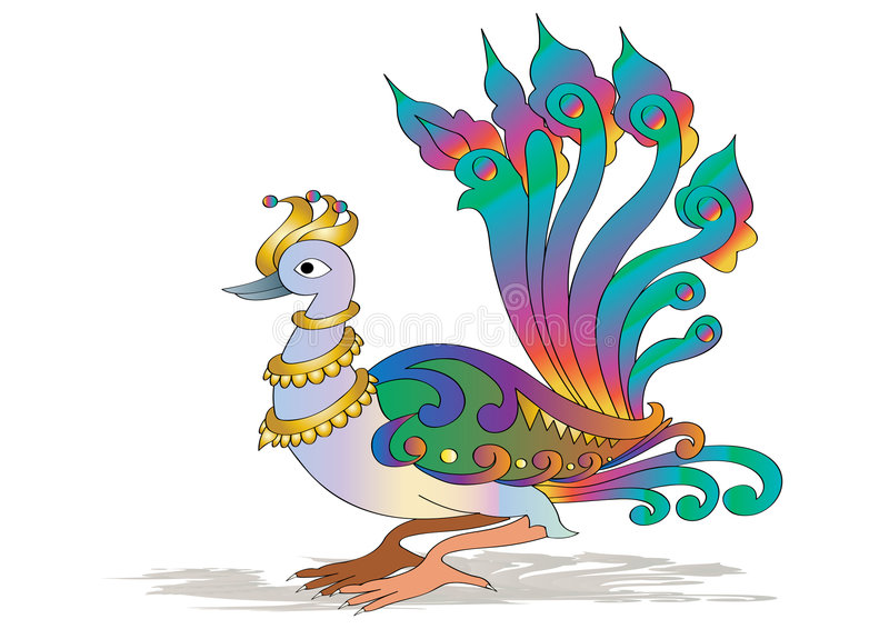 Download Peacock stock vector. Illustration of illustration, indian - 7146722