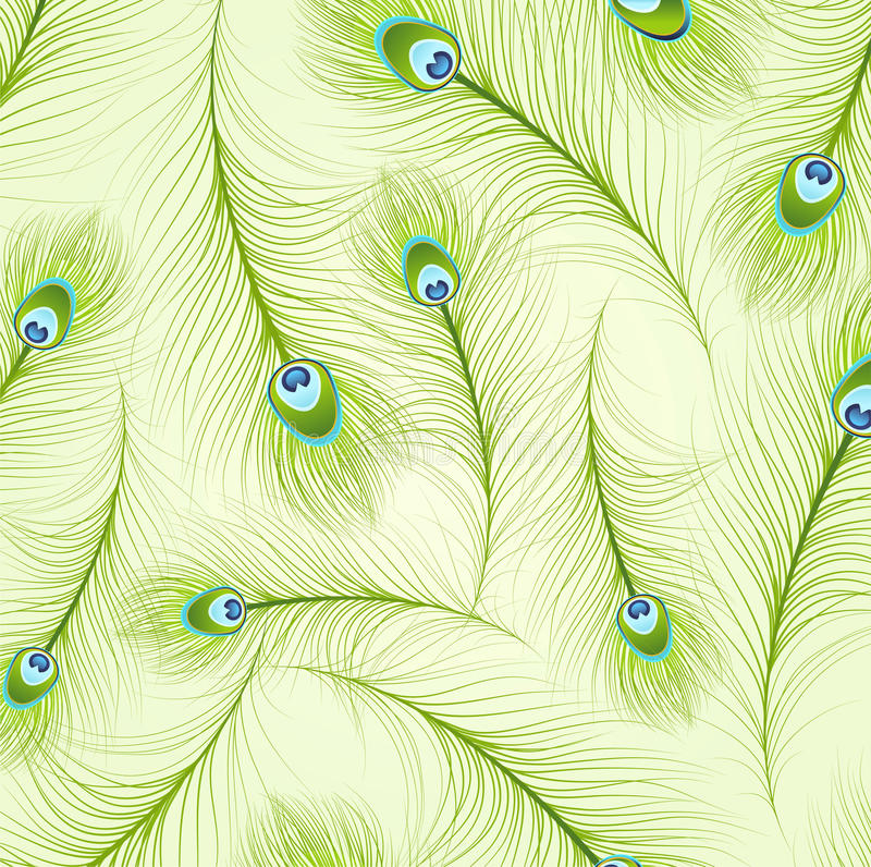 Free Peacock Feather Pattern 2 Stock Image - 86749041