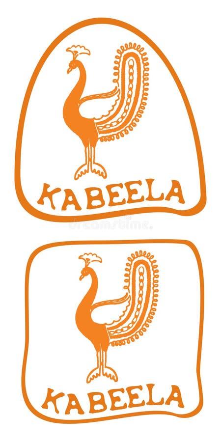 Download Peacock logo stock vector. Image of gradation, logo, animal - 8536661