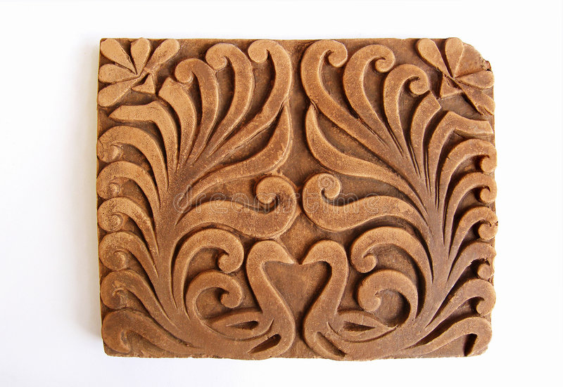 Download Peacock Ornamental Tile stock image. Image of heart, pattern - 5143605