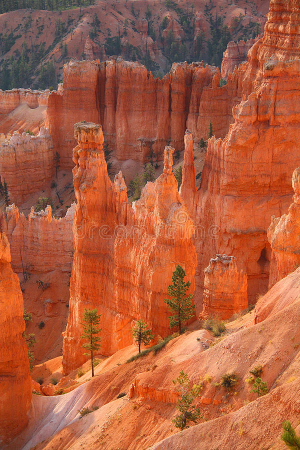 Peak in Bryce Canyon stock photo