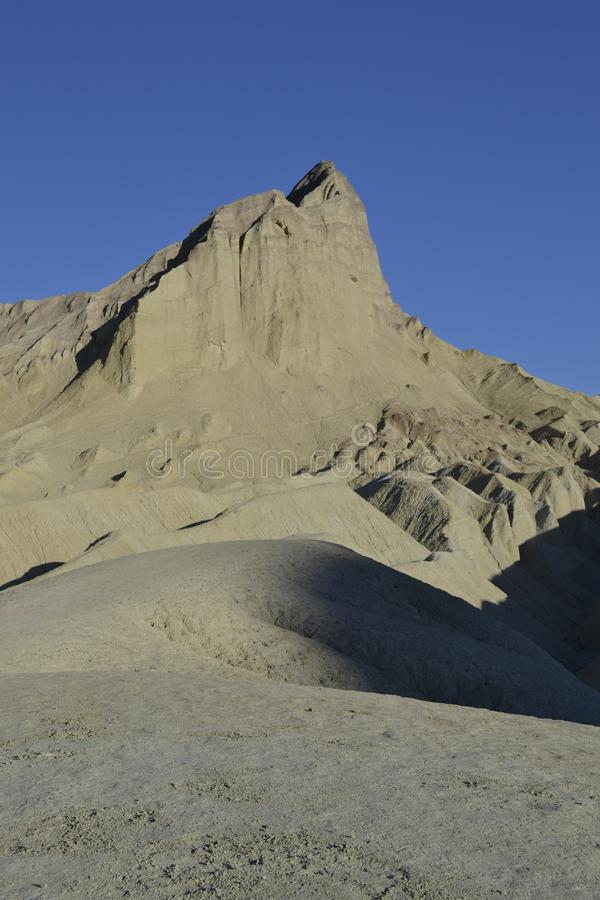 Peak in the death valley royalty free stock photos