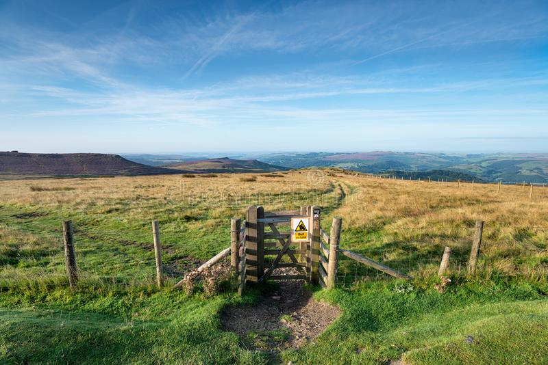 The Peak District royalty free stock image
