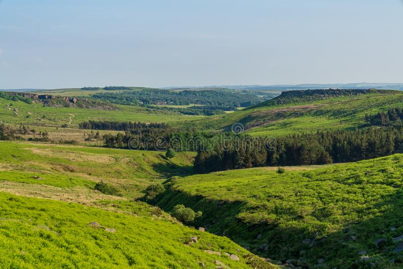 Upper Burbage, South Yorkshire, England, UK stock photography
