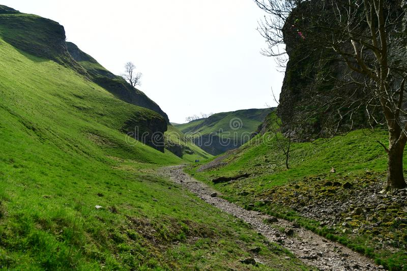 Peak District national park in UK stock photography