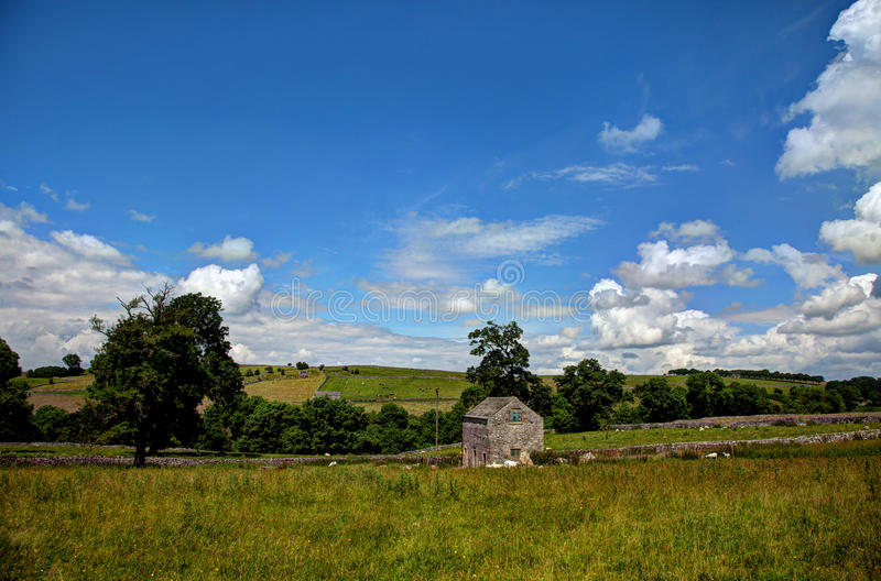 The Peak District - Old Barn Royalty Free Stock Photography
