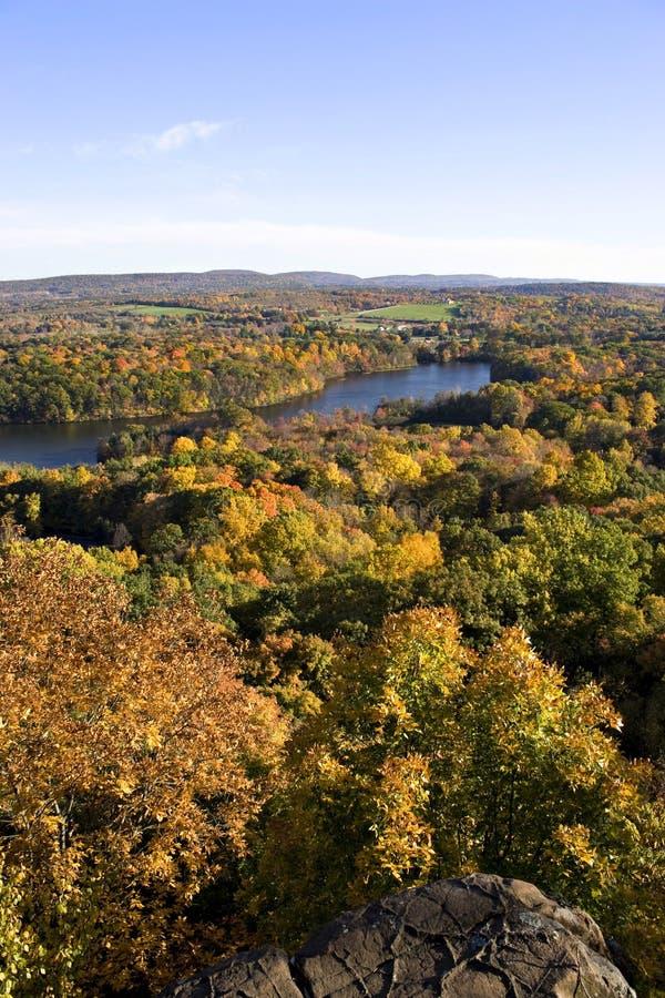 Peak Foliage In New England Royalty Free Stock Photo