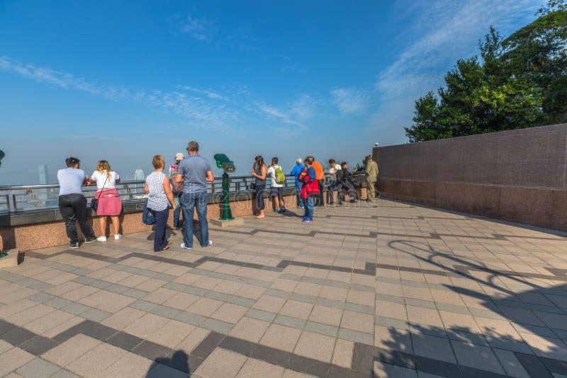 Peak Galleria observation deck stock photo