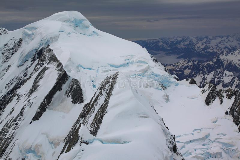Peak with snow royalty free stock photos