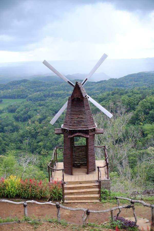 Peak Songgo Langit, photo spots with natural nuances royalty free stock image