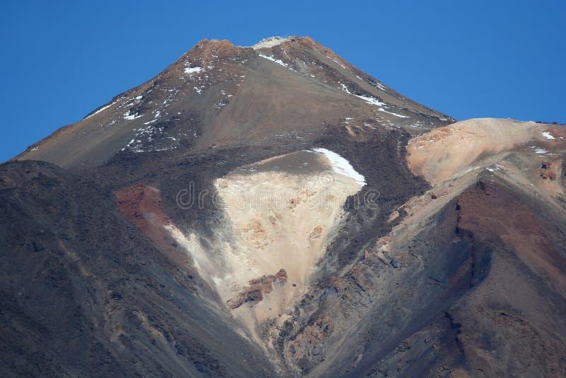 Peak Teide in Tenerife island royalty free stock images