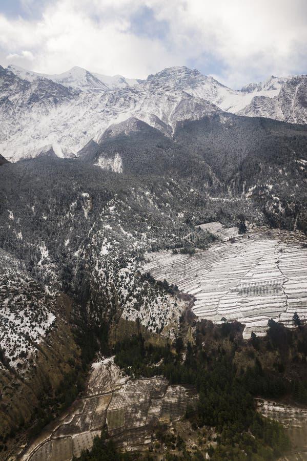 Download Peaks In The Himalaya, Nepal. Stock Photo - Image: 24160000