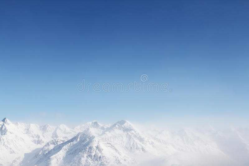 Peaks Of Mountains Royalty Free Stock Photo