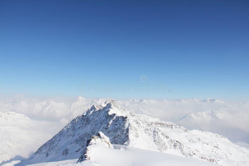 Download Peaks of mountains stock photo. Image of cloud, season - 26863752