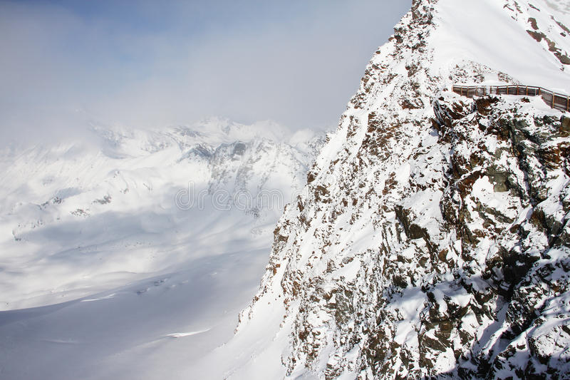 Download Peaks of mountains stock image. Image of copy, snow, beauty - 27603879
