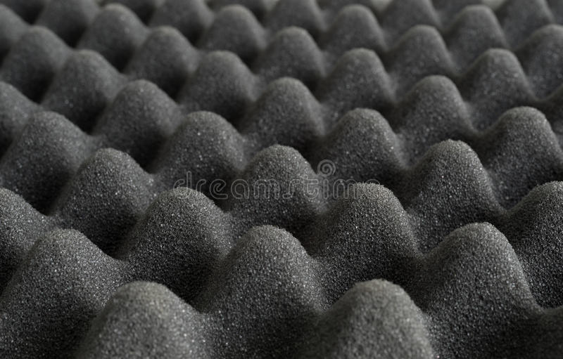 Peaks of polyurethane packing material. Close view of the peaks of foam polyurethane packing material stock photos