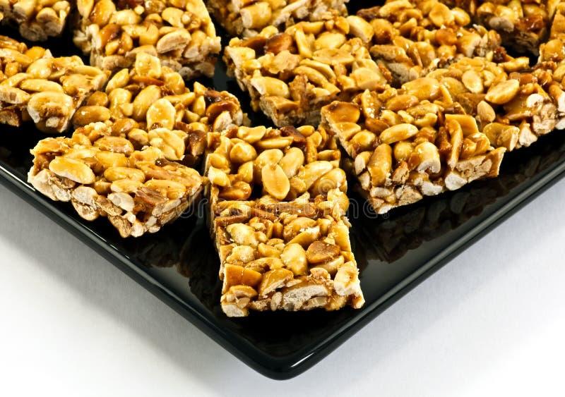 Download Peanut Cookies On Black Plate Stock Image - Image: 31811701