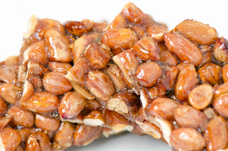 Peanut brittle royalty free stock photography