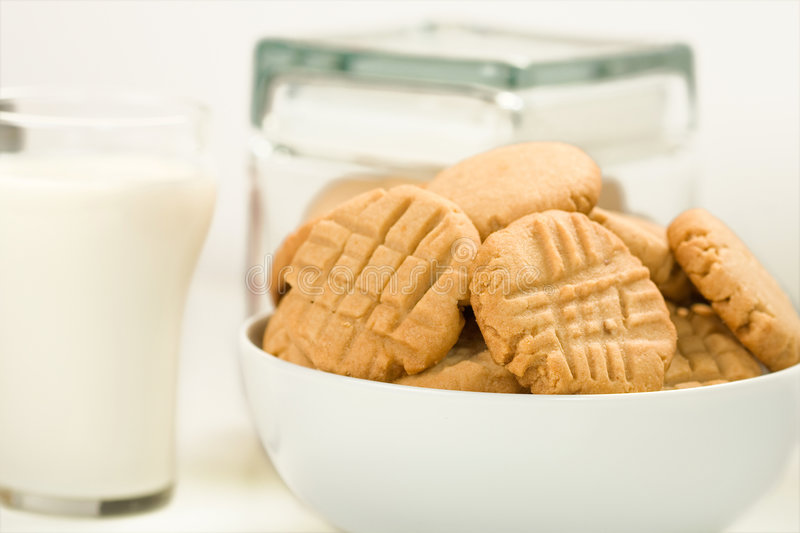 Download Peanut butter cookies stock image. Image of butter, crosshatch - 9233015