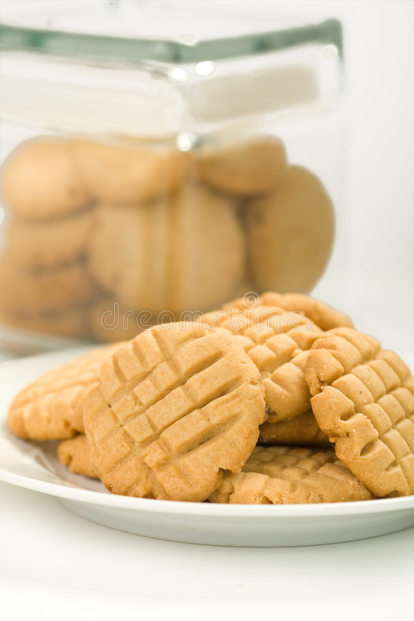 Free Peanut Butter Cookies Stock Photography - 9279382