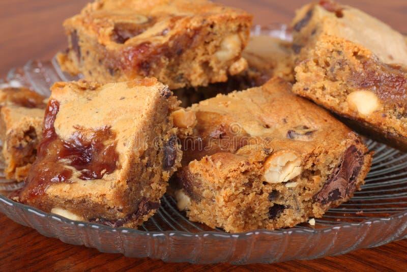 Peanut Butter Fudge stock image