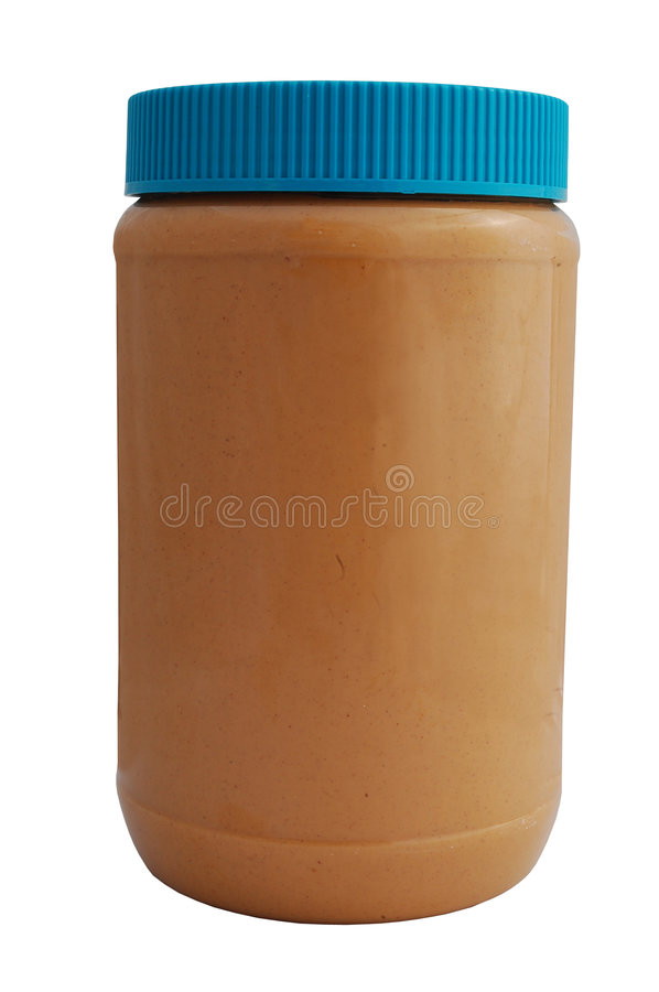 Peanut Butter Jar Royalty Free Stock Images