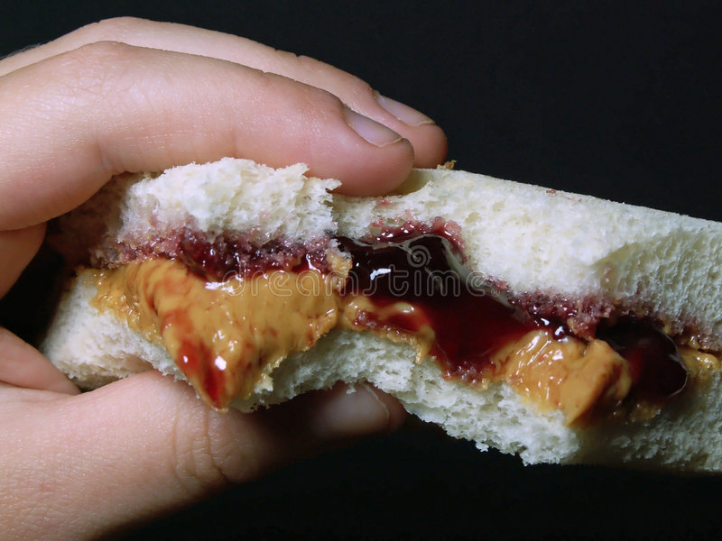 Download Peanut Butter & Jelly Royalty Free Stock Photos - Image: 195808