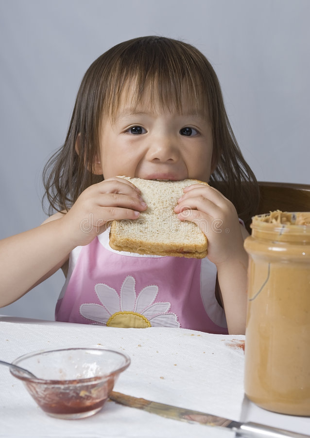 Peanut butter and Jelly royalty free stock images