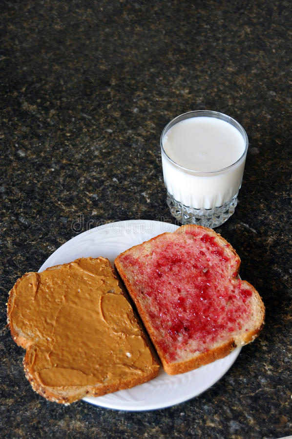 Download Peanut Butter Jelly Sandwich Stock Photo - Image: 13800794