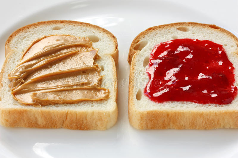 Download Peanut Butter & Jelly Sandwich Royalty Free Stock Photos - Image: 24218198