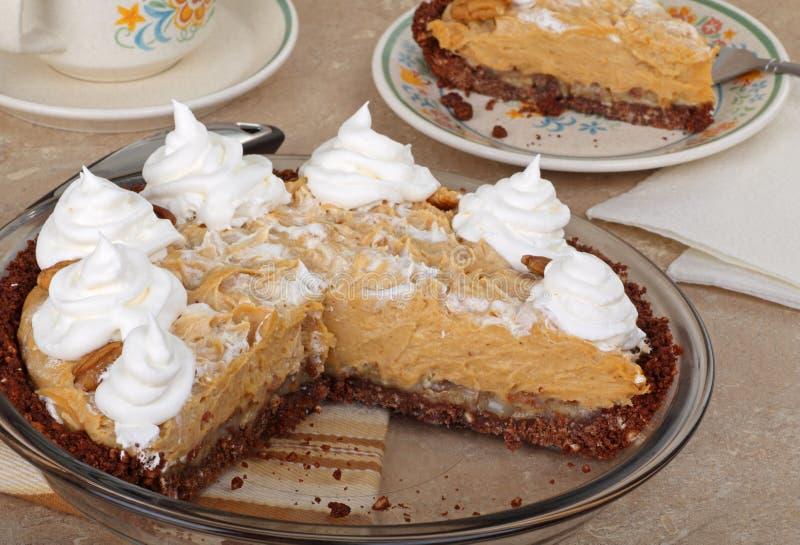 Peanut Butter Pie stock photo