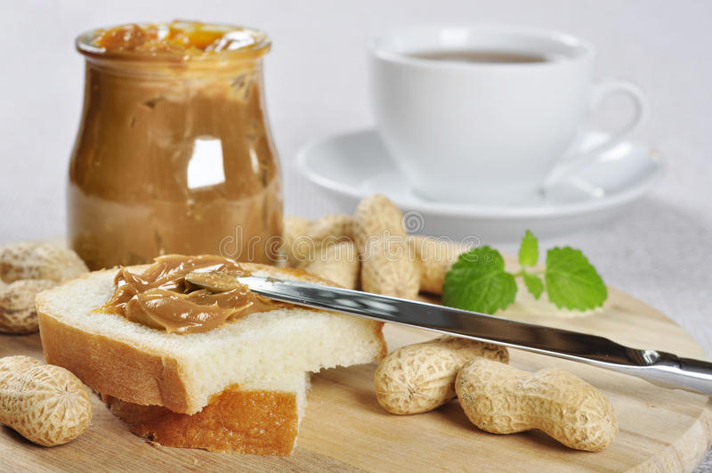 Download Peanut butter sandwhich stock photo. Image of creamy - 27376572