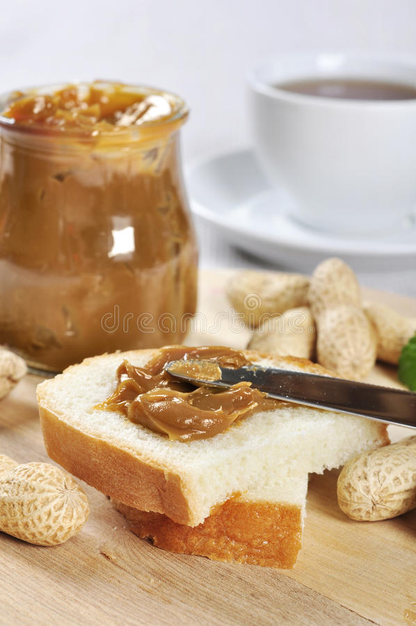 Download Peanut butter sandwhich stock image. Image of mint, butter - 27376575
