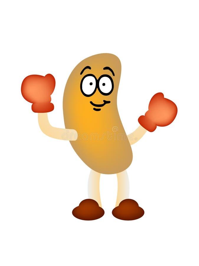 Download Peanut man mascot vector stock vector. Image of drink - 9636694
