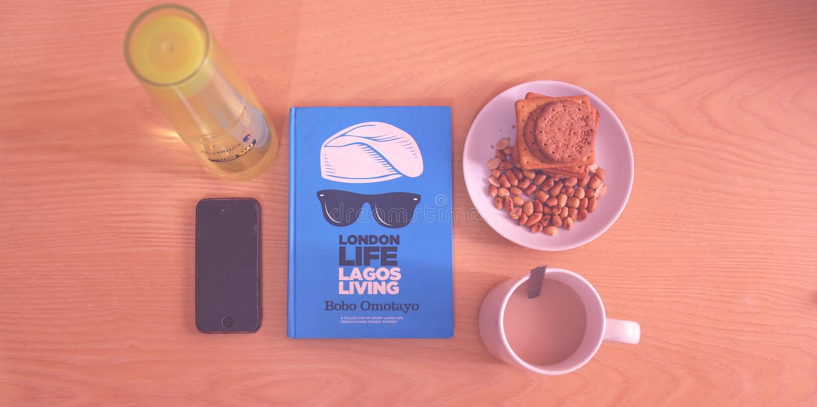 Peanuts And Biscuits In White Ceramic Plate Beside White Ceramic Mug Near Lagos Living Book Free Public Domain Cc0 Image