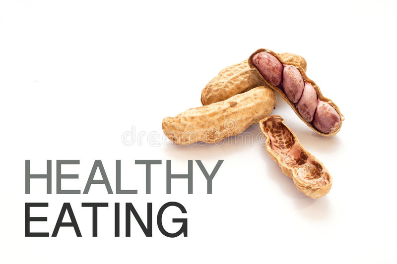 Download Peanuts Isolate On White Background, HEALTHY EATING Stock Photo - Image: 83700858