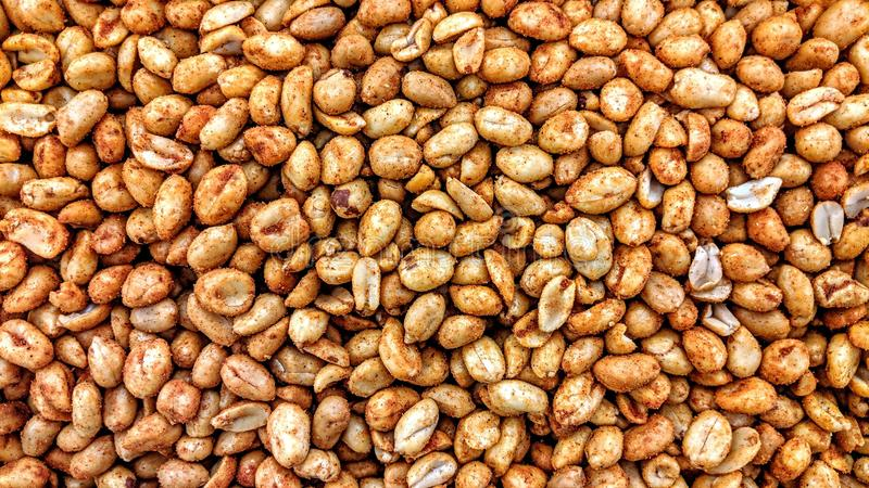 Peanuts seasoned in loose. Can be used as a background or wallpaper and for other possibility or to modify to your taste vector illustration