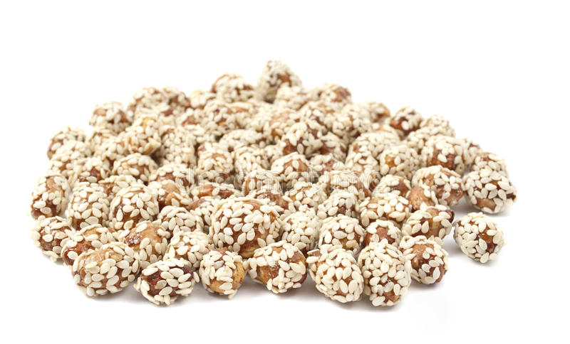 Peanuts With Sesame Stock Images