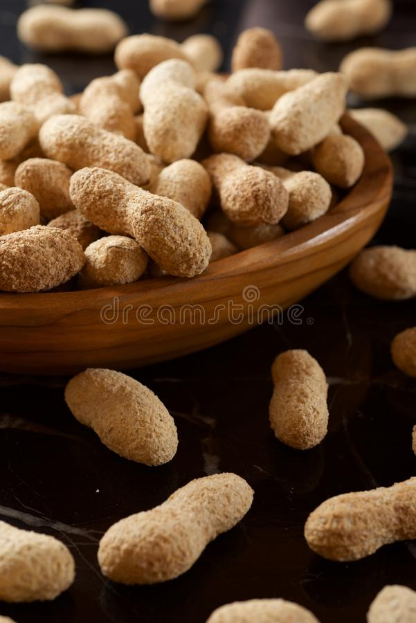 Peanuts with shell stock images