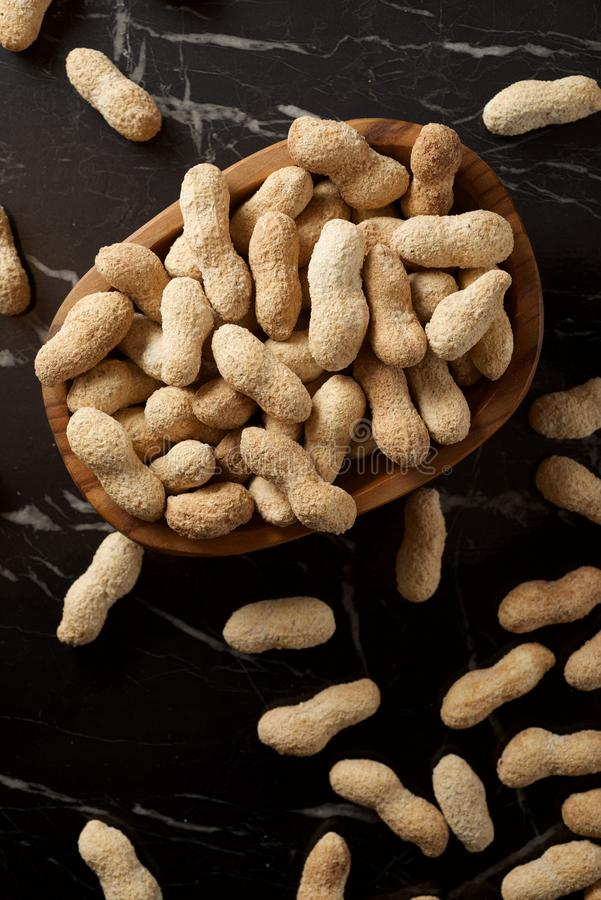 Peanuts with shell royalty free stock images