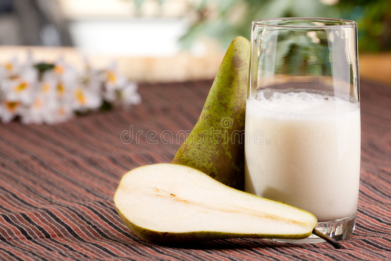 Pear Drink Royalty Free Stock Photos