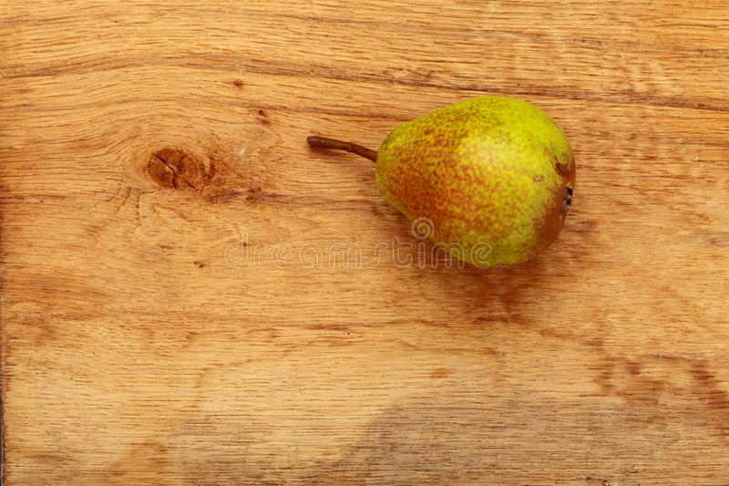 Download Pear Fruit On Wooden Table Background Stock Photo - Image: 33632254