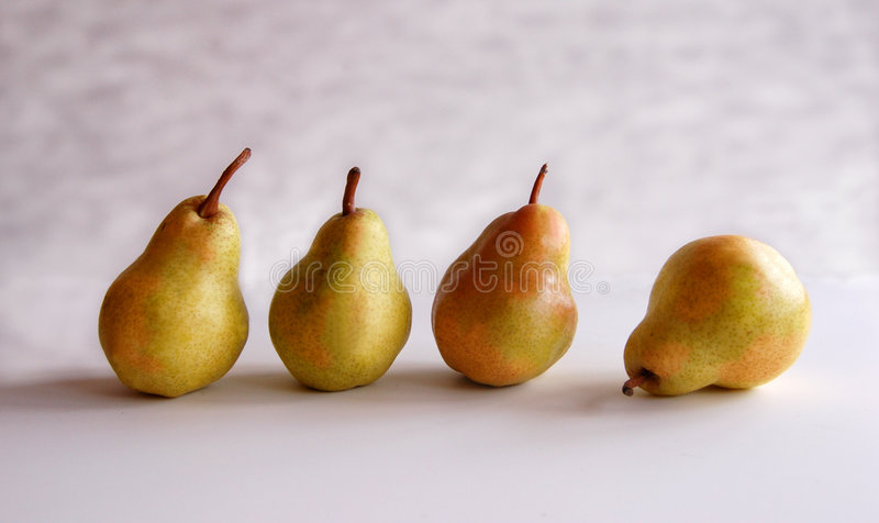Pear Impressionism royalty free stock photos