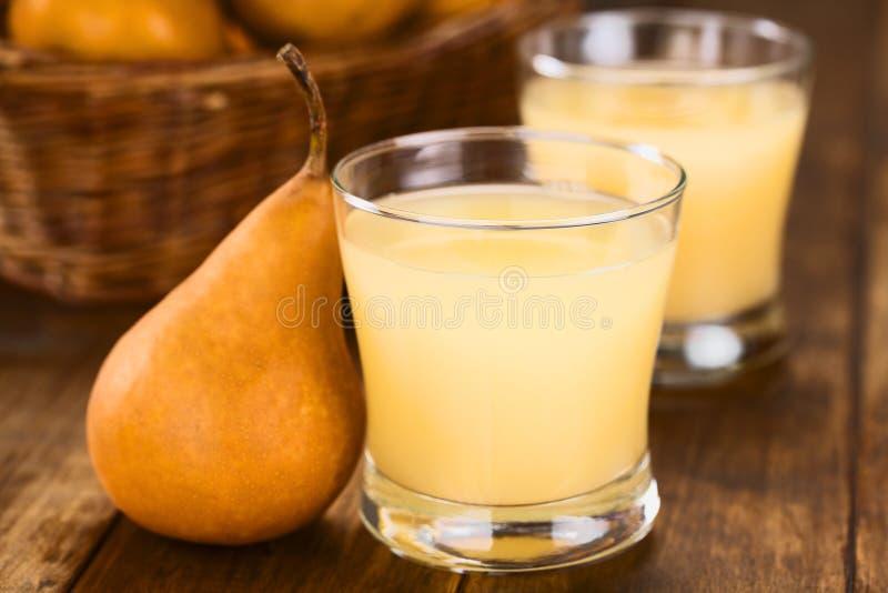 Pear Juice stock image