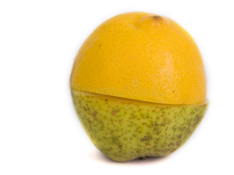 Download A pear or a lemon ? stock photo. Image of dieting, health - 11240872