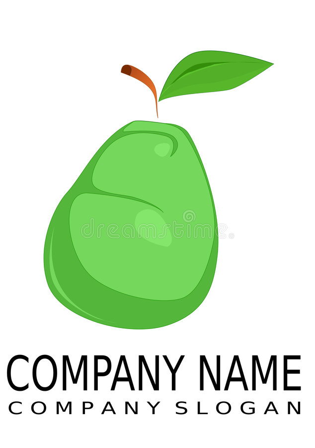 Download Pear - logo stock illustration. Image of edible, pear - 8506451